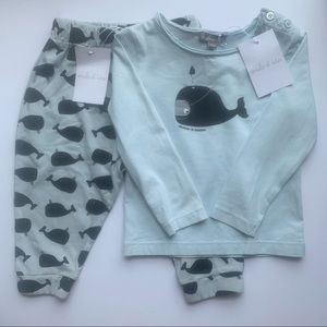 Emile et Ida Whale Top and Bottoms